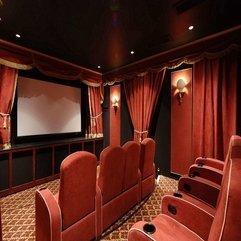 Theater Design Luxury Home - Karbonix