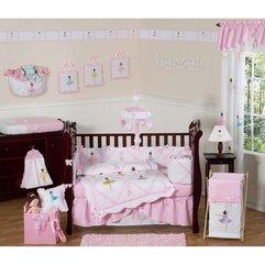 Theme Ideas With Princess Pattern Girl Nursery - Karbonix