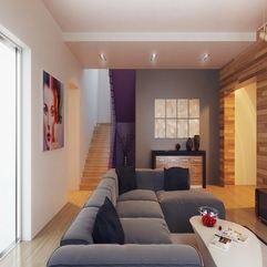 Tones Cool Wood Clad Feature For Living Room Modern Nature - Karbonix