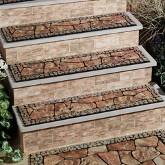 Treads Natural Stone Picture Stair - Karbonix