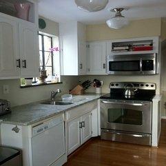 Best Inspirations : Trendy Idea For Creative Small Kitchen Interior Extravagant - Karbonix