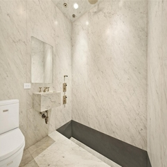 Tribeca Beautiful Modern Bathroom Marble House - Karbonix