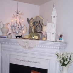 Two Cottages And Tea Shabby Chic Mantel - Karbonix