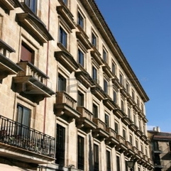 Typical Spanish Residential Architecture Apartment Building - Karbonix