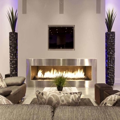Unique Modern Fireplace In Round Circle Shape For Modern Living Room - Karbonix