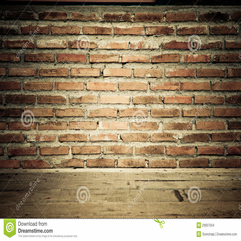 Vintage Brick Wall With Wooden Floor Texture Stock Images Image - Karbonix