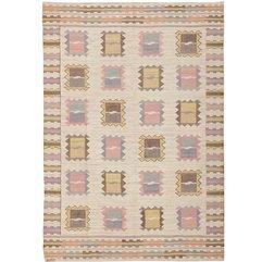 Vintage Scandinavian Carpet By Marta Maas Fjetterstrom At 1stdibs - Karbonix