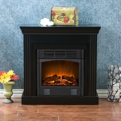 Walden Electric Fireplace - Karbonix
