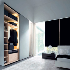 Walk In Wardrobe With Doors Artistic Concept - Karbonix