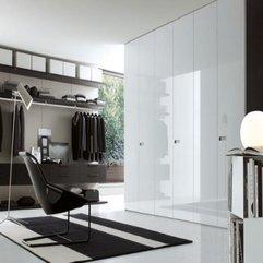 Walk Wardrobe Modern White - Karbonix