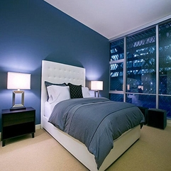 Wall Bedroom Ideas Great Blue - Karbonix