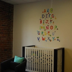 Wall For Baby Room Alphabet On - Karbonix