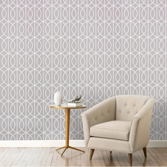 Wallpaper White Modern - Karbonix