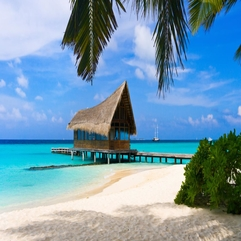 Wallpapers Lovely Nature Sea House Beach Ocean Summer Architecture - Karbonix