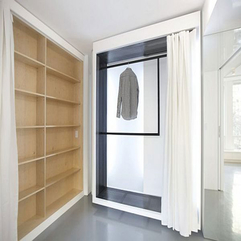 White Apartment Interior Ideas From IM Pei In New York Wardrobe - Karbonix