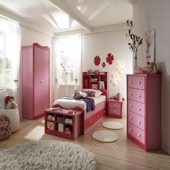 White Bedroom Funky Pink - Karbonix
