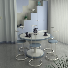 White Decor Dining Areas - Karbonix