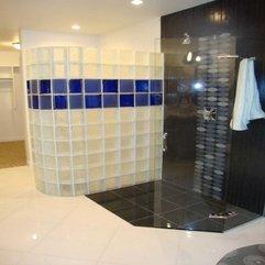 White Glass Block Blue - Karbonix