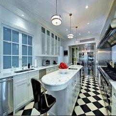 White Kitchen Flooring Best Black - Karbonix