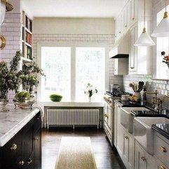 White Kitchen Pictures Elegant Black - Karbonix