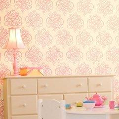 White Wall Stencils Pink - Karbonix