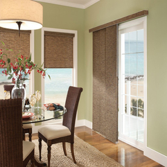 Why Sliding Glass Door Shades Panel Is More Stylish Cozy Dining - Karbonix
