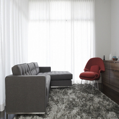 Winnett House Livingroom With Grey And Red Sofa Minimalist 360 - Karbonix