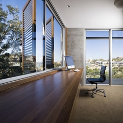 Wood Able Office Room Design Clovelly House In Modern Style - Karbonix