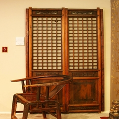 Wooden Closet Door Japanese Style - Karbonix