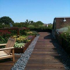 Wooden Floor Rooftop Landscape - Karbonix