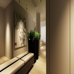 Best Inspirations : Wooden Hallway Design Modern Cream - Karbonix