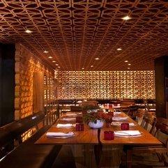 Wooden Table Interior Design Looks Elegant - Karbonix