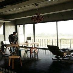 Work Space Interior Design Ubon House - Karbonix