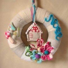 Wreath Patchwork Christmas - Karbonix
